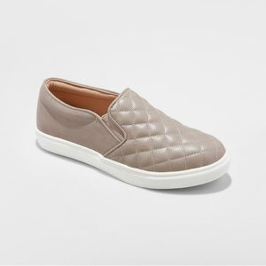 Women's Reese Quilted Sneakers - A New Day Size